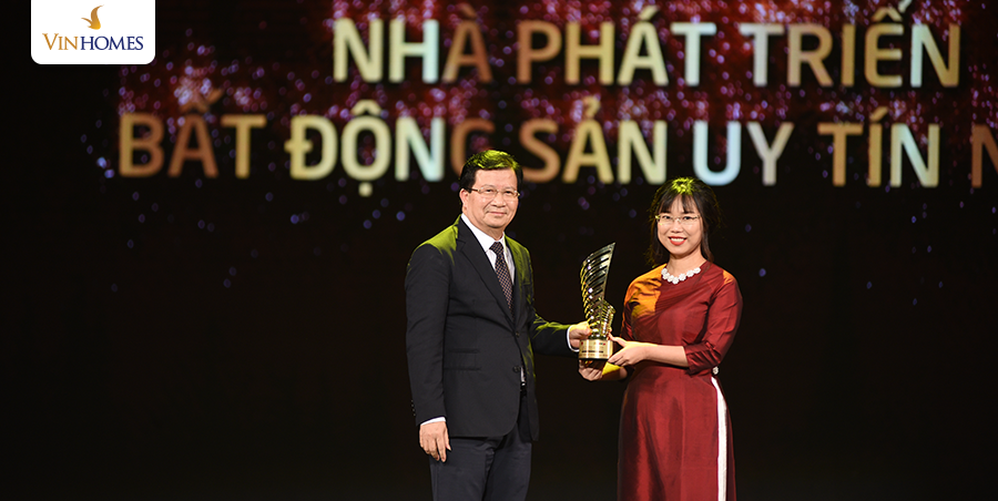 Vinhomes được vinh danh tại Lễ trao giải, Giải thưởng Quốc gia Bất động sản Việt Nam 2018